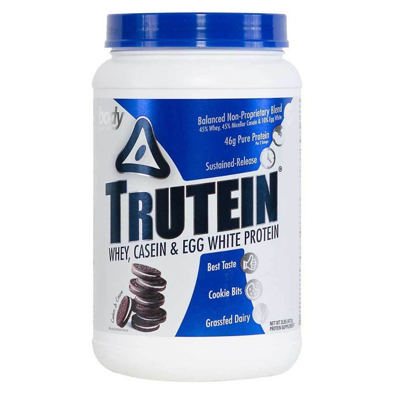 Body Nutrition Trutein 2 Lbs Protein/Protein Blends Body Nutrition Cookies & Cream  (10944472387)
