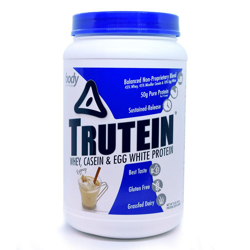 Body Nutrition Trutein 2 Lbs Protein/Protein Blends Body Nutrition Eggnog  (10944472387)