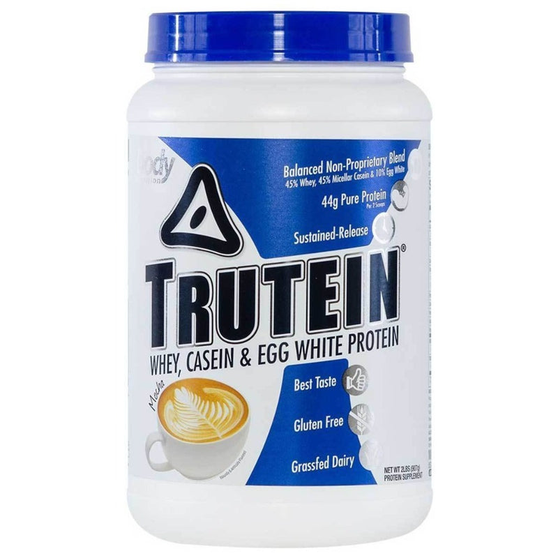 Body Nutrition Trutein 2 Lbs Protein/Protein Blends Body Nutrition Mocha  (10944472387)