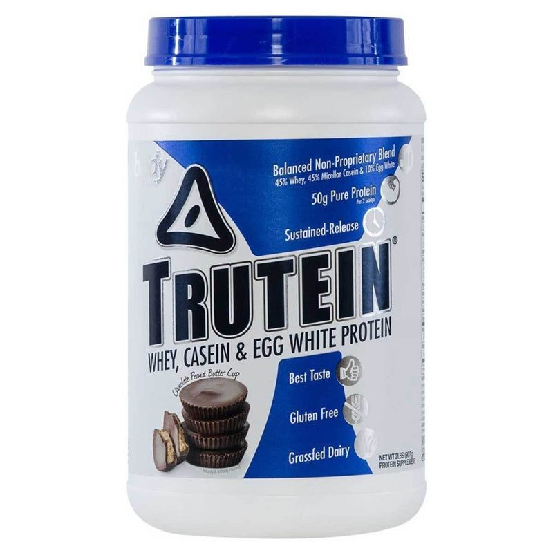 Body Nutrition Trutein 2 Lbs Protein/Protein Blends Body Nutrition Chocolate-Peanut Butter Cup  (10944472387)