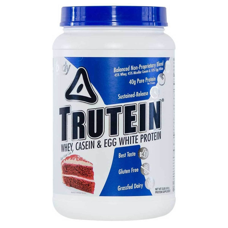 Body Nutrition Trutein 2 Lbs Protein/Protein Blends Body Nutrition Red Velvet Cake  (10944472387)
