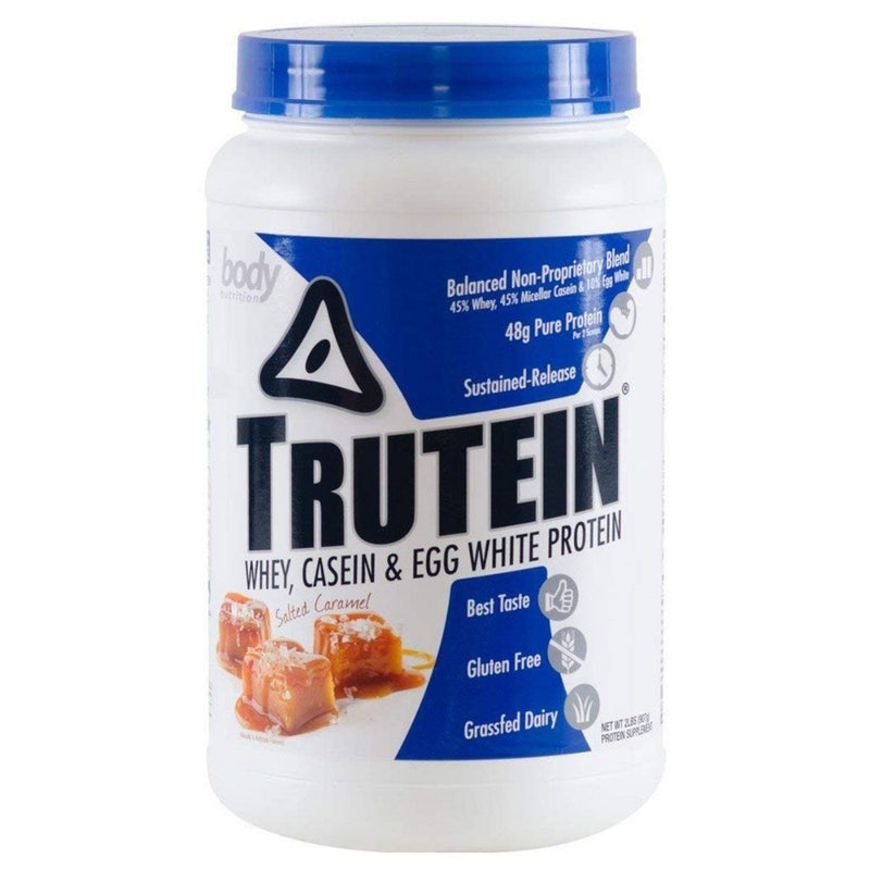 Body Nutrition Trutein 2 Lbs Protein/Protein Blends Body Nutrition Salted Caramel  (10944472387)