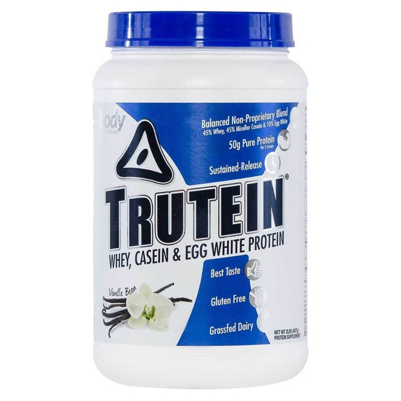 Body Nutrition Trutein 2 Lbs Protein/Protein Blends Body Nutrition Vanilla Bean  (10944472387)