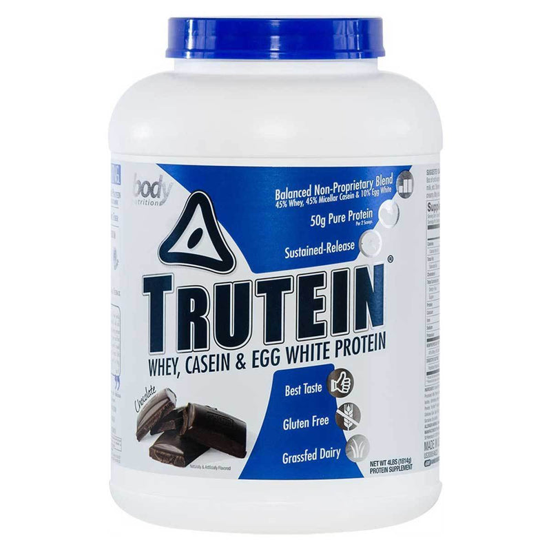 Body Nutrition Trutein 4 Lbs Protein/Protein Blends Body Nutrition Chocolate  (10944473923)