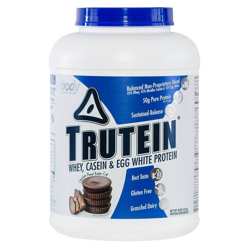 Body Nutrition Trutein 4 Lbs Protein/Protein Blends Body Nutrition Chocolate-Peanut Butter Cup  (10944473923)