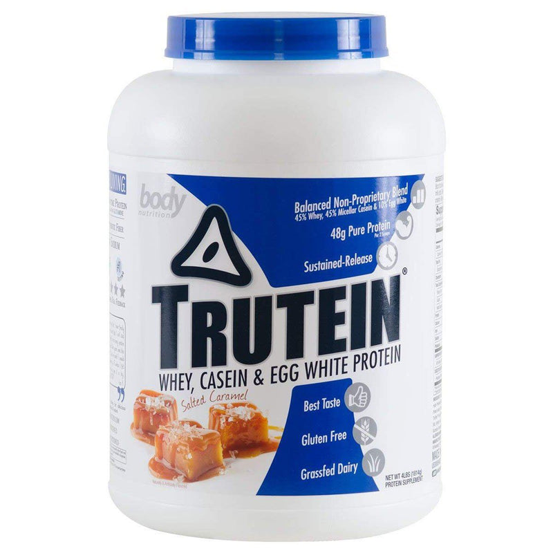 Body Nutrition Trutein 4 Lbs Protein/Protein Blends Body Nutrition Salted Caramel  (10944473923)