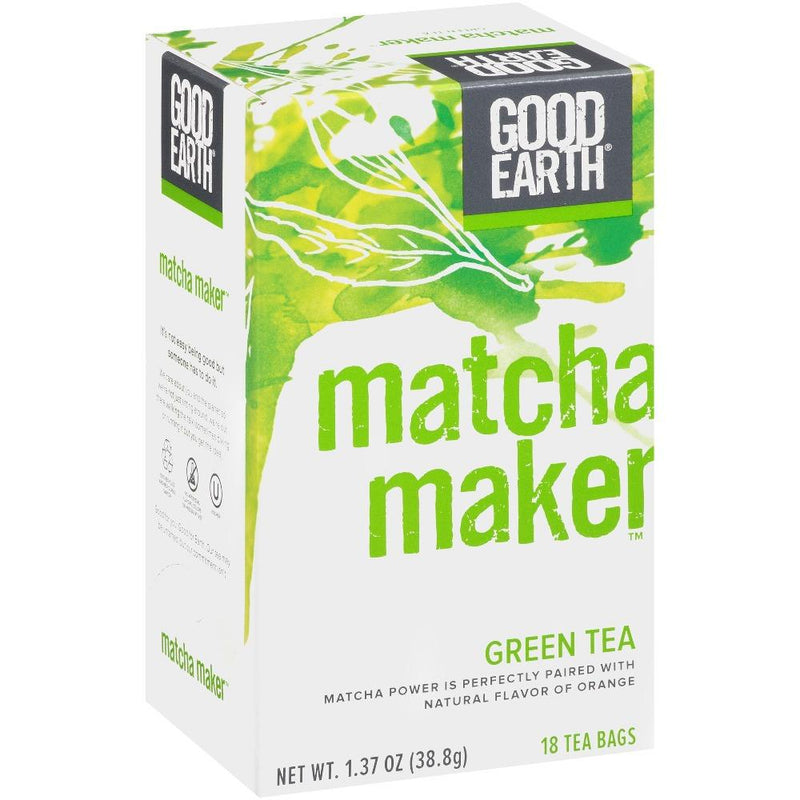 Good Earth Teas Matcha Maker 18 Bags Vitamins & Minerals Good Earth Teas