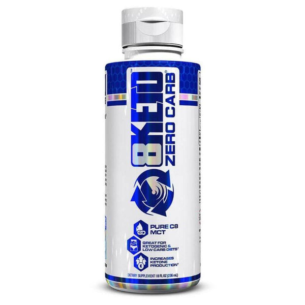 VPX 8Keto Zero Carb Pure C8 MCT 8 Fluid Ounces Sports Performance Recovery VPX  (4449333313559)