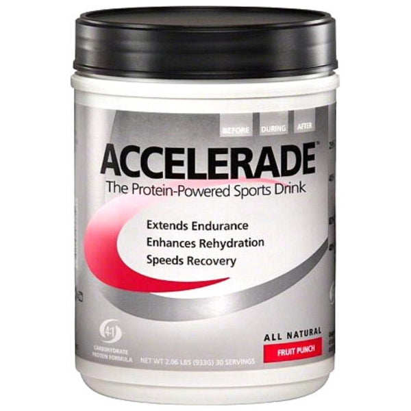PacificHealth Laboratories Accelerade 30 Servings Sports Performance Recovery PacificHealth Laboratories Fruit Punch  (4520167604247)