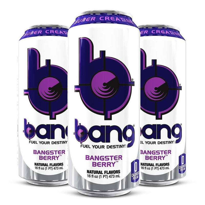 VPX Bang Energy RTD Energy & Sports Drinks VPX Bangster Berry  (10980129475)