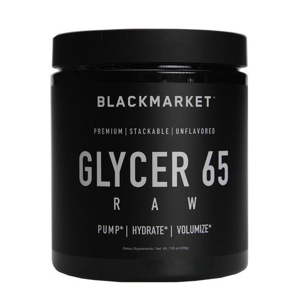 Black Market Labs Glycer 65 Raw 100/Servings Pre-Workouts Black Market Labs  (4373462843415)