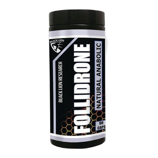 Black Lion Follidrone 90 Capsules Prohormones Black Lion  (4484562649111)