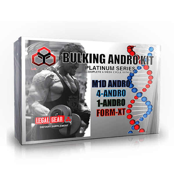 LG Sciences Bulking Andro Kit™ Hormone Support LG Sciences  (9797651523)