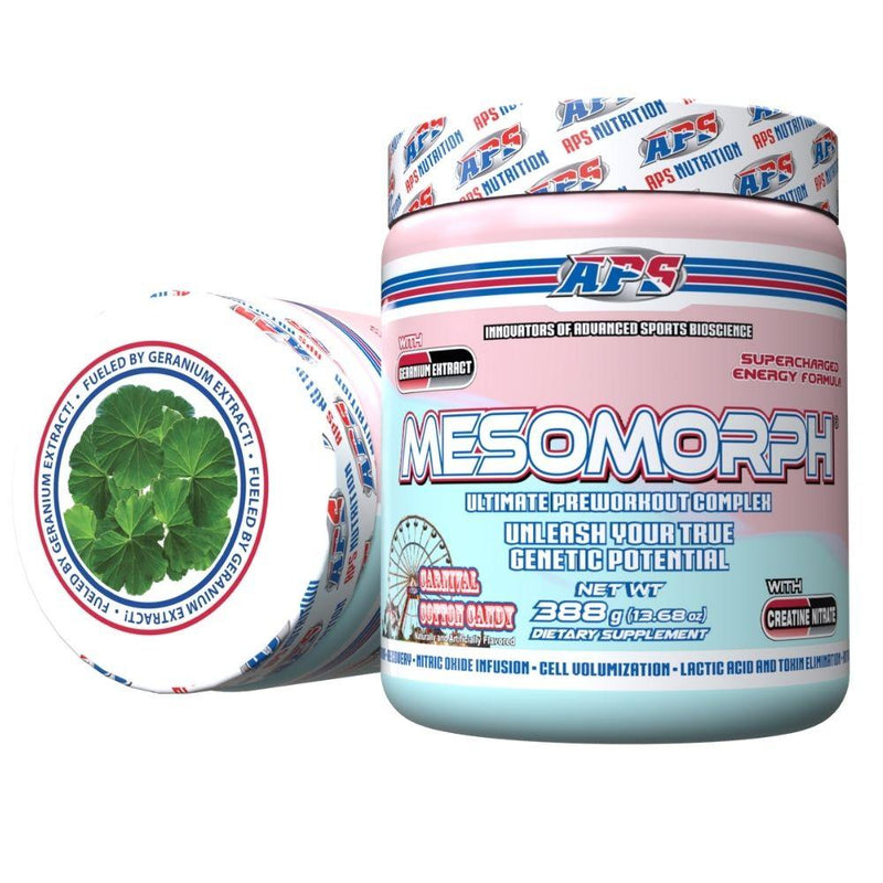 APS Nutrition Mesomorph 25 Servings (New Formula) Pre-Workout APS Nutrition Carnival Cotton Candy  (9797598083)