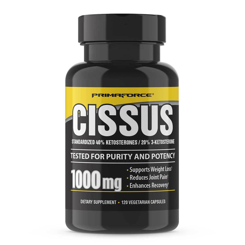 PrimaForce Cissus 1000mg 120 Caps Joint Aid PrimaForce  (1381435146263)
