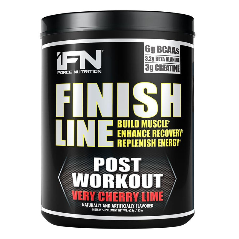 iForce Nutrition FINISH LINE™ Recovery IFORCE Verry Cherry Lime 25 svg  (9797629379)