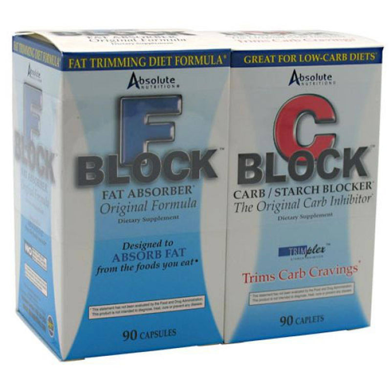 Absolute Nutrition Dynamic Duo (C-Block and F-Block) Weight Loss Absolute Nutrition  (10030487491)