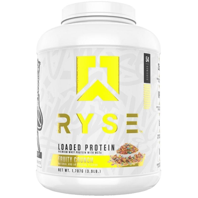 Ryse Supplements Loaded Protein 4lb Protein Powders Ryse Supplements Fruity Crunch  (4494824865815)