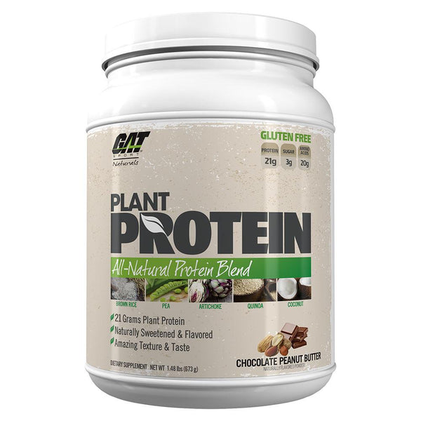 GAT Plant Protein 20 Servings Protein/Vegetable Protein GAT Chocolate Peanut Butter  (10974260163)