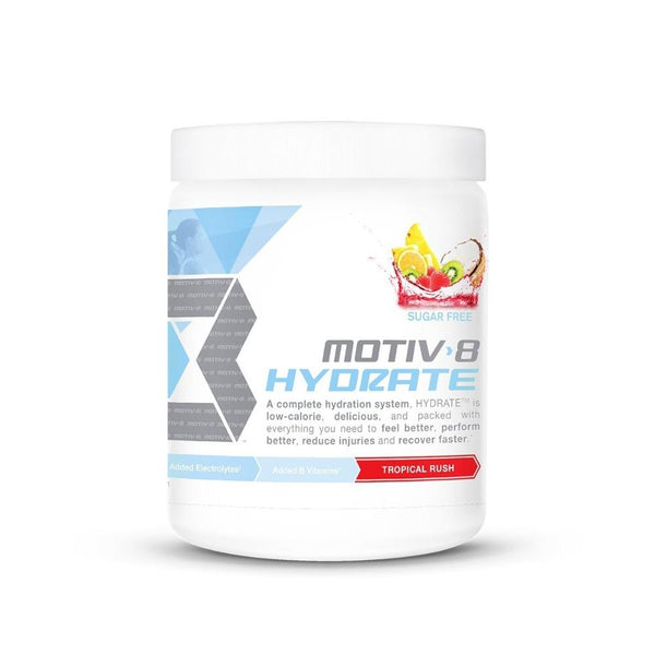 Motiv8 Hydrate 30 Servings Motiv-8 Tropical Rush  (533504753697)