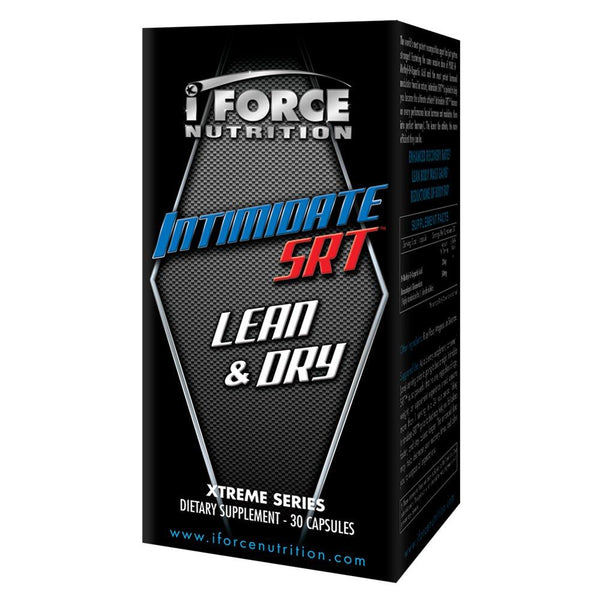 iForce Nutrition INTIMIDATE SRT™ Hormone Support IFORCE 30 capsules  (9797632579)