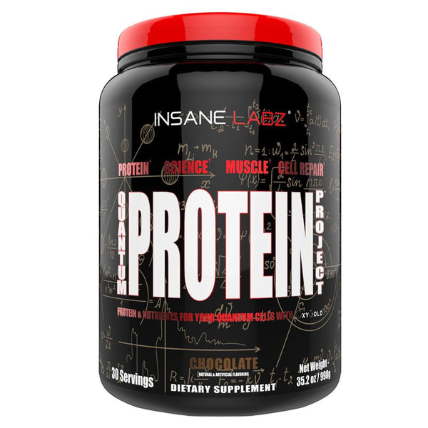 Insane Labz Quantum Protein Project 30 Servings Protein Powders Insane Labz Chocolate  (1577597665303)