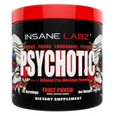 INSANE LABZ Psychotic 35 Servings Sports Performance Recovery Insane Labz Fruit Punch  (1569133363223)