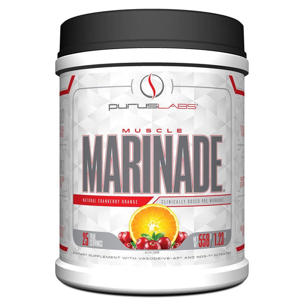 Purus Labs Muscle Marinade Cranberry Orange 25 Servings 3/19 Expired Purus Labs  (4199643152407)