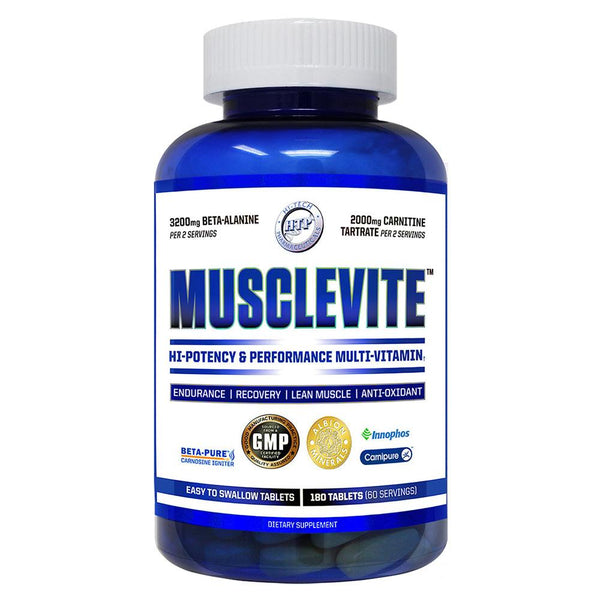 Hi-Tech Pharmaceuticals MuscleVite 180T Multi Vitamins Hi-Tech Pharmaceuticals  (1541879562263)