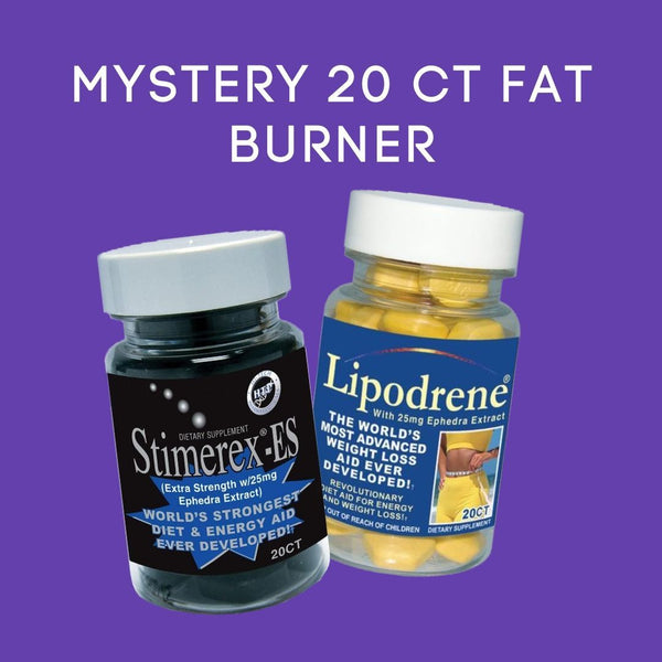 Mystery 20 Count Fat Burner Fat Burner Hi-Tech Pharmaceuticals  (4441538822167)
