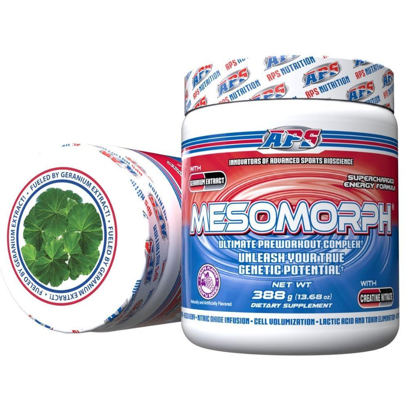 APS Nutrition Mesomorph 25 Servings (New Formula) Pre-Workout APS Nutrition Grape  (9797598083)