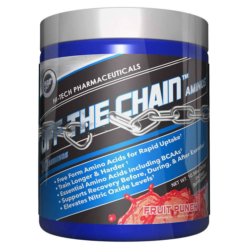 Hi-Tech Pharmaceuticals Off the Chain® BCAAs Hi-Tech Pharmaceuticals Fruit Punch 30 Serving  (9797547907)