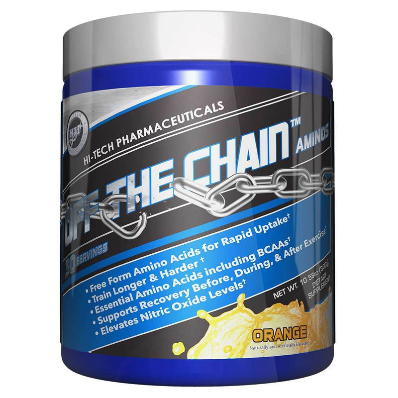Hi-Tech Pharmaceuticals Off the Chain® BCAAs Hi-Tech Pharmaceuticals Orange 30 Serving  (9797547907)