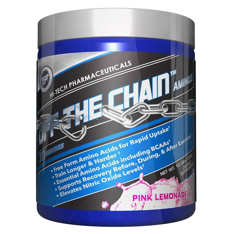 Hi-Tech Pharmaceuticals Off the Chain® BCAAs Hi-Tech Pharmaceuticals Pink Lemonade 30 Serving  (9797547907)