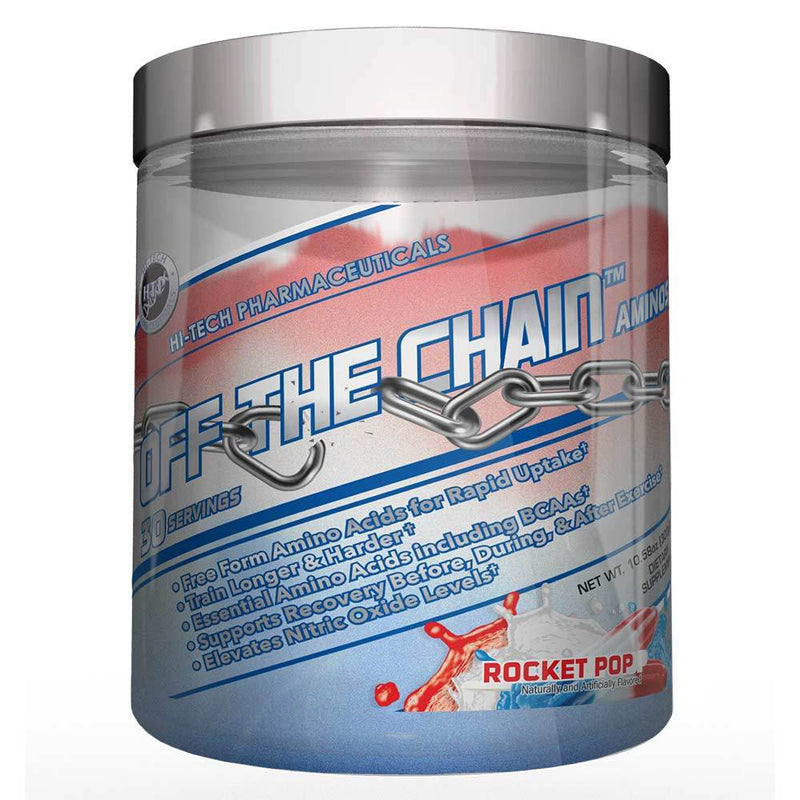 Hi-Tech Pharmaceuticals Off the Chain® BCAAs Hi-Tech Pharmaceuticals Rocket Pop 30 Serving  (9797547907)