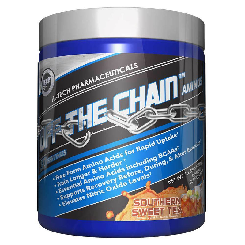 Hi-Tech Pharmaceuticals Off the Chain® BCAAs Hi-Tech Pharmaceuticals Southern Sweet Tea 30 Serving  (9797547907)