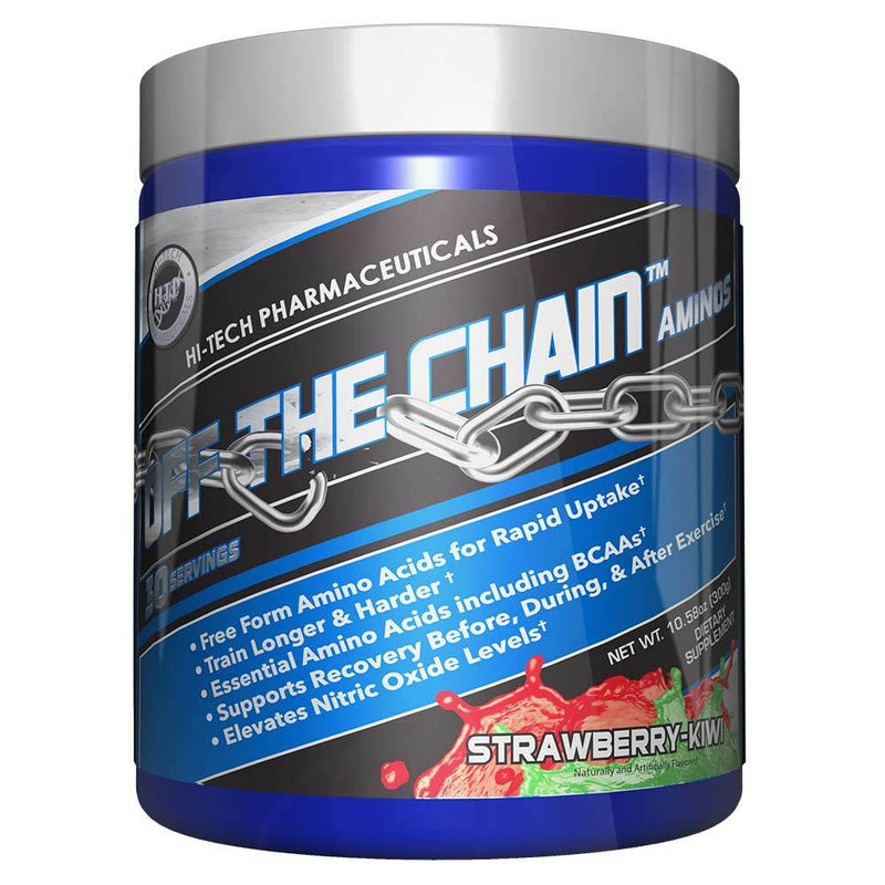Hi-Tech Pharmaceuticals Off the Chain® BCAAs Hi-Tech Pharmaceuticals Strawberry Kiwi 30 Serving  (9797547907)