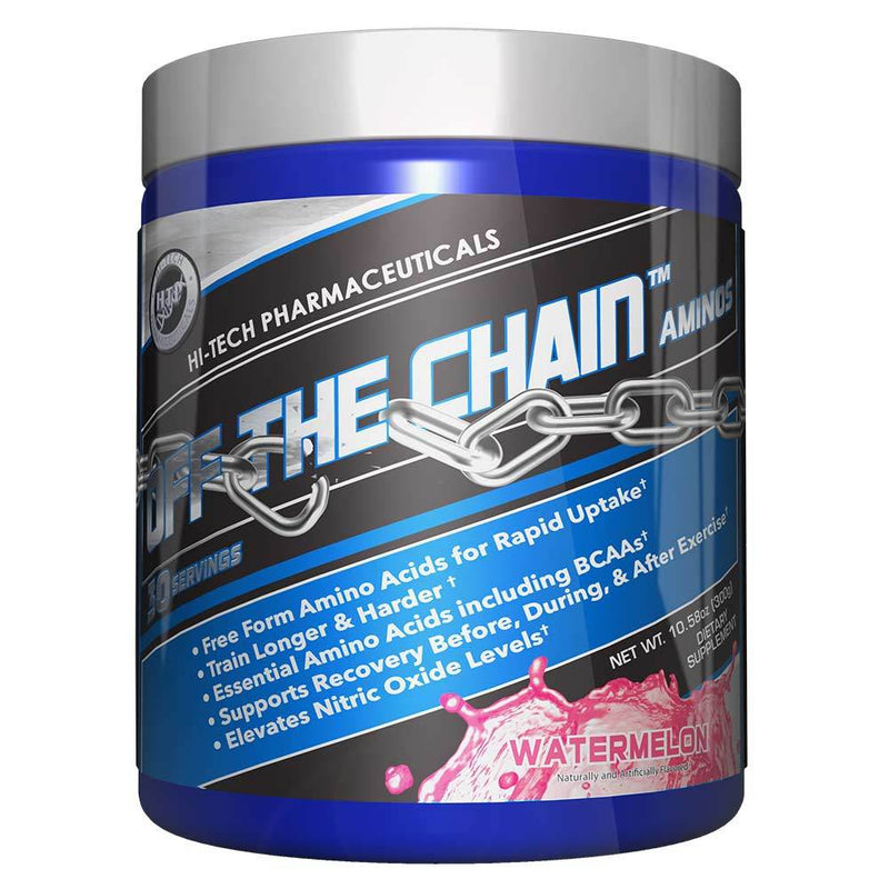 Hi-Tech Pharmaceuticals Off the Chain® BCAAs Hi-Tech Pharmaceuticals Watermelon 30 Serving  (9797547907)