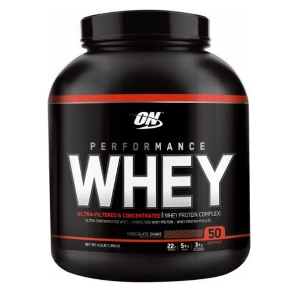 Optimum Nutrition Performance Whey 4.19 Lbs Protein/Whey Protein Optimum Nutrition  (10901682243)