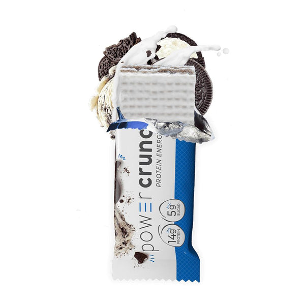 Power Crunch Wafers 12/Box Bars Bionutritional Research Group Cookies & Cream  (1471172247575)