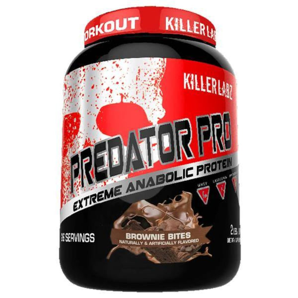 Killer Labs Predator Protein Protein Powders Killer Labz BROWNIE BITES  (1493578874903)