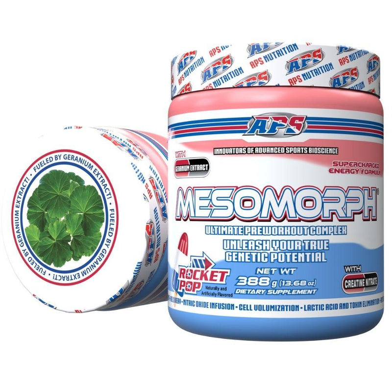 APS Nutrition Mesomorph 25 Servings (New Formula) Pre-Workout APS Nutrition Rocket Pop  (9797598083)
