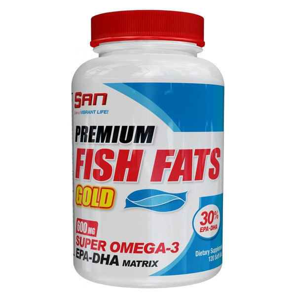 SAN Fish Fats Gold 120 Soft Gels Health & Wellness/Healthy Fats/DHA SAN  (10031733315)