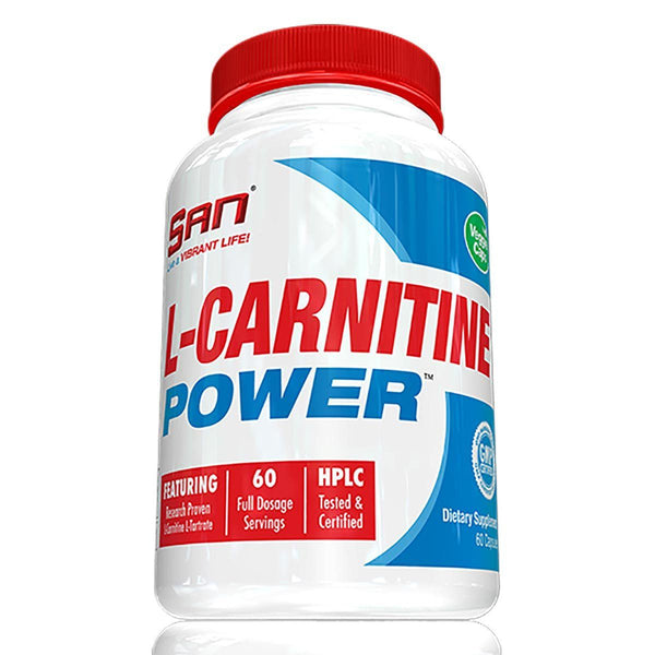 SAN L-Carnitine Power 60 Capsules Supplements SAN  (10031733955)