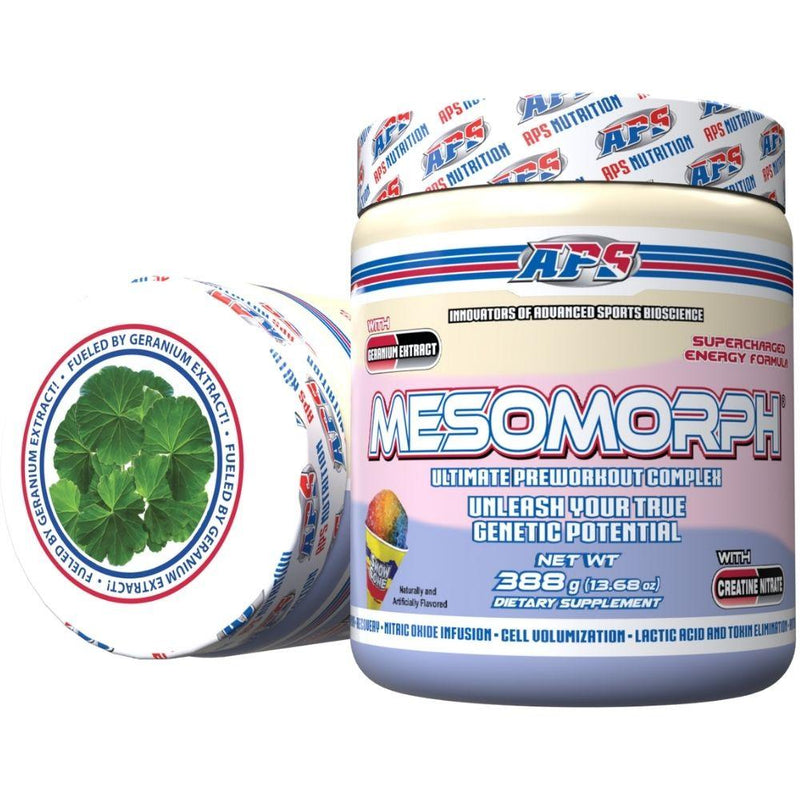APS Nutrition Mesomorph 25 Servings (New Formula) Pre-Workout APS Nutrition Snow Cone  (9797598083)