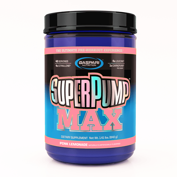 Gaspari Nutrition Super Pump MAX Pre-Workout Gaspari Nutrition Pink Lemonade 40 SVG  (9801675267)