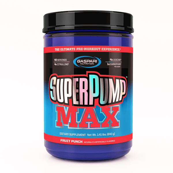 Gaspari Nutrition Super Pump MAX Pre-Workout Gaspari Nutrition Fruit Punch Blast 40 SVG  (9801675267)