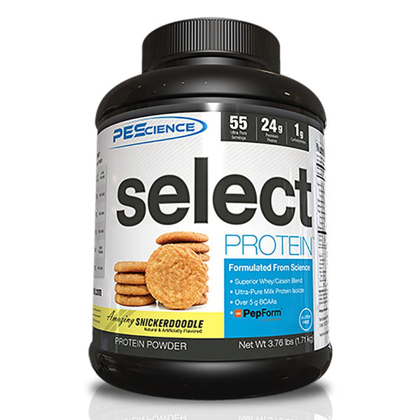 PEScience Select Protein 55 Servings Protein Powders PEScience Snickerdoodle  (47741206531)