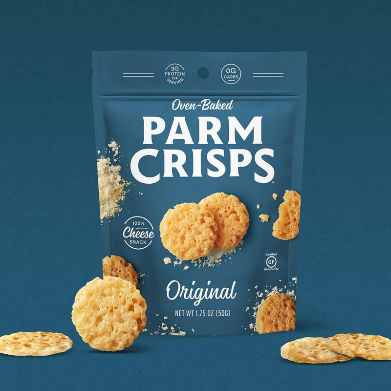 That's How We Roll Parm Crisps 6/Box Foods Juices That's How We Roll Original  (4347700838423)