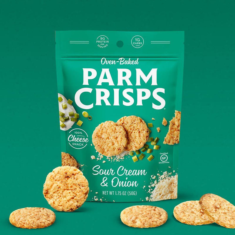 That's How We Roll Parm Crisps 6/Box Foods Juices That's How We Roll Sour Cream and Onion  (4347700838423)